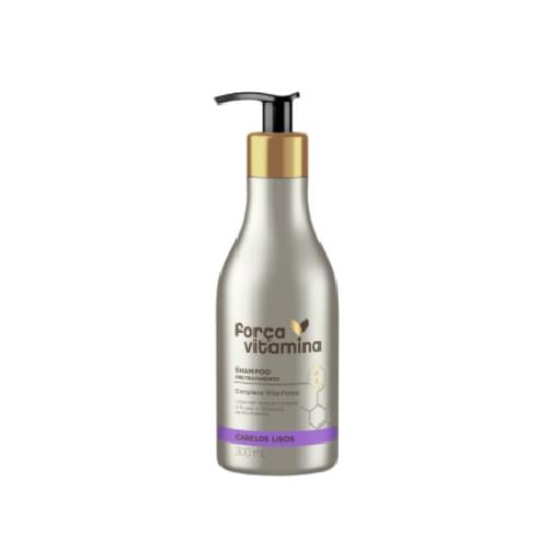 Imagem de Shampoo uso diário força vitamina 300ml liso