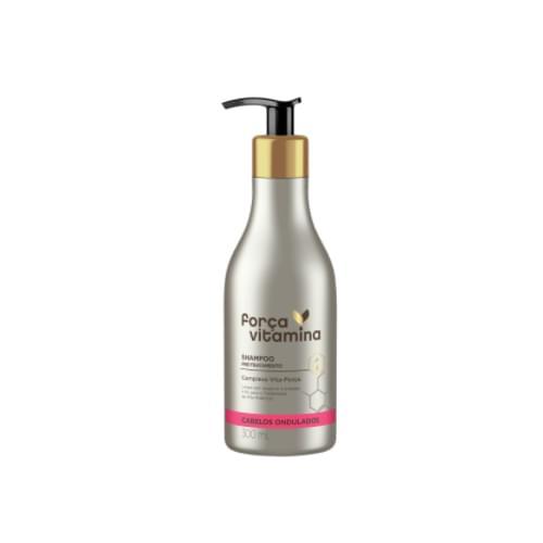 Imagem de Shampoo uso diário força vitamina 300ml ondulados
