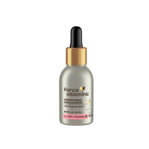 Imagem de Ampola tratamento força vitamina 30ml fortalecedor com pró-vitamina b5
