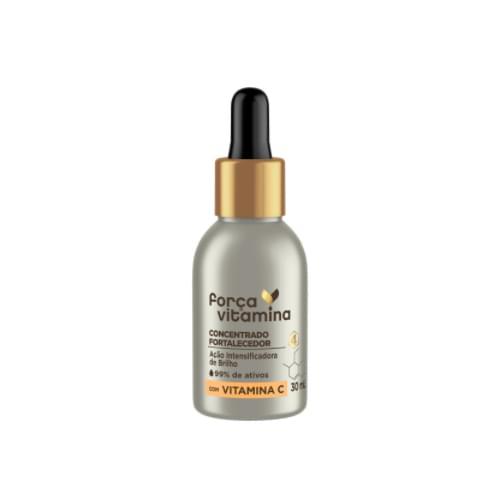 Imagem de Ampola tratamento força vitamina 30ml fortalecedor com vitamina c