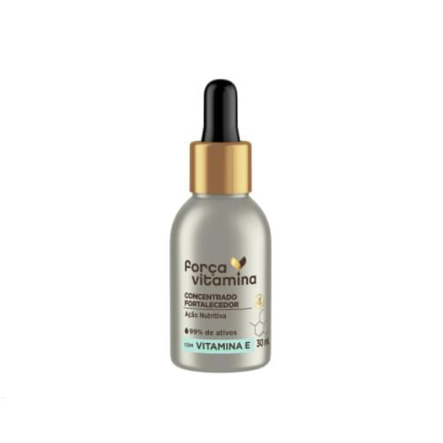 Imagem de Ampola tratamento força vitamina 30ml fortalecedor com vitamina e