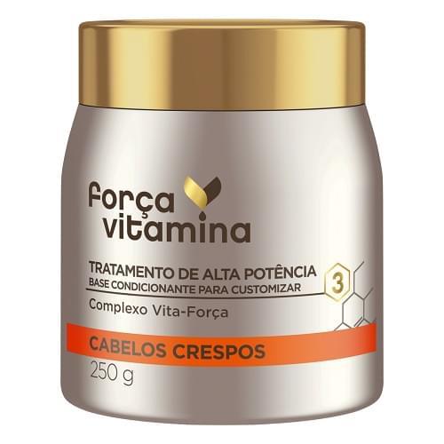 Imagem de Creme tratamento força vitamina 250g crespo