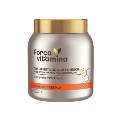 Imagem de Creme tratamento força vitamina 500g crespo