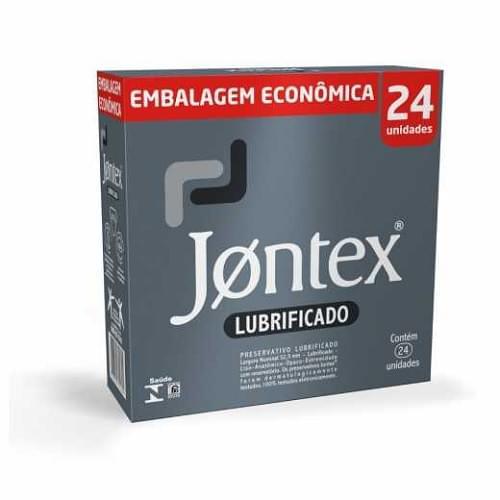 Imagem de Preservativo lubrificado jontex c/24