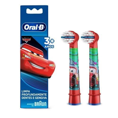 Imagem de Escova dental eletrica oral-b c/2 kids cars refil