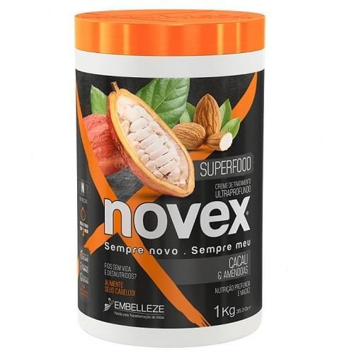 Imagem de Creme tratamento novex 1kg cacau e amendoas