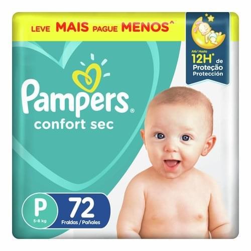 Imagem de Fralda infantil pampers confort