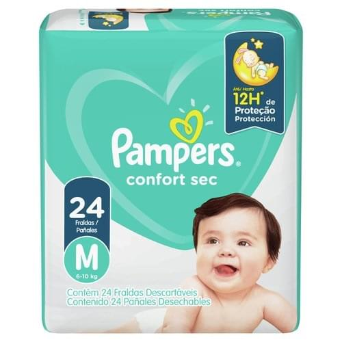 Imagem de Fralda infantil pampers confort c/24 m