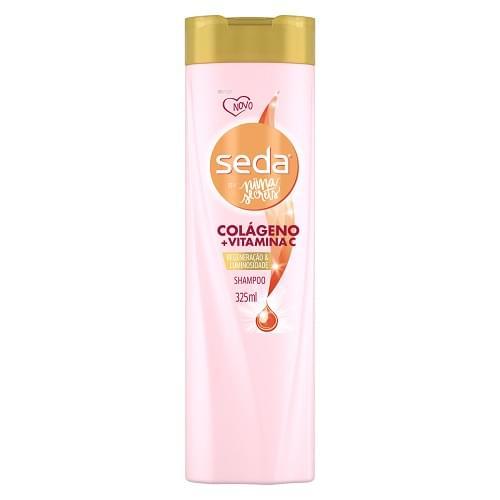 Imagem de Shampoo uso diário seda 325ml colágeno+vitamina c