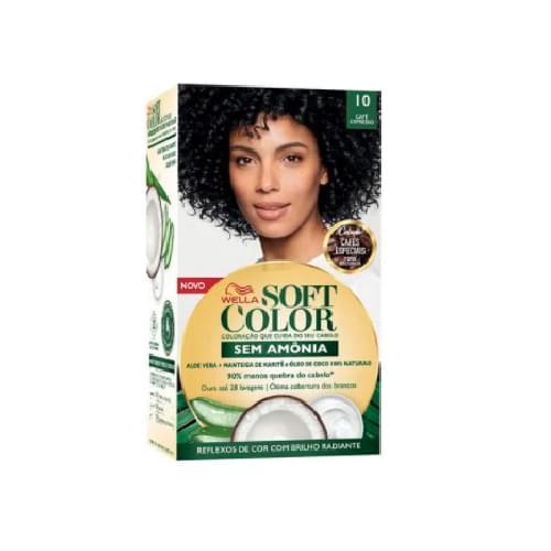 Imagem de Tintura semi permanente soft color 1.0 café expresso