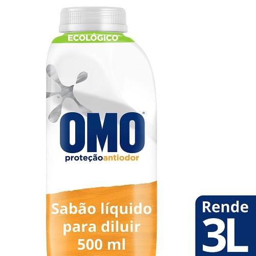 Imagem de Lava-roupas líquido omo 500ml sports