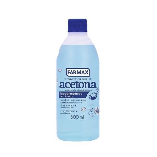 Imagem de Removedor esmalte farmax 500ml com acetona