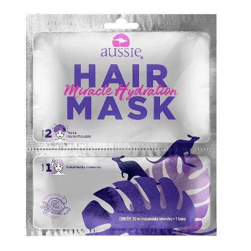 Imagem de Máscara tratamento aussie 30ml + touca multibrand