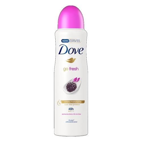 Imagem de Desodorante aerosol dove 150ml amora e flor de lotus