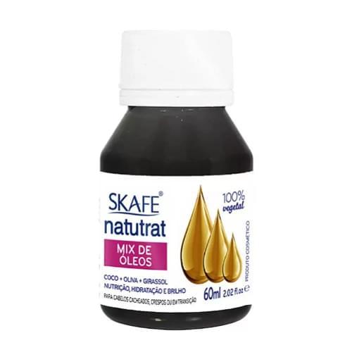 Imagem de Óleo capilar natutrat 60ml mix de óleos - coco + oliva + girassol