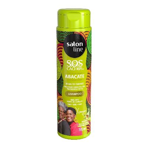 Imagem de Shampoo uso diário salon line 300ml sos abacate