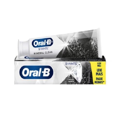 Imagem de Creme dental tradicional oral-b 140g 3d white mineral clean lv+pg-