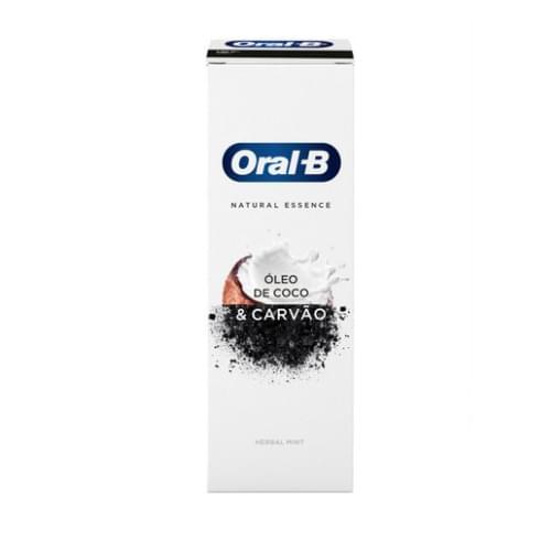 Imagem de Creme dental tradicional oral-b 102g natural essence herbal mint