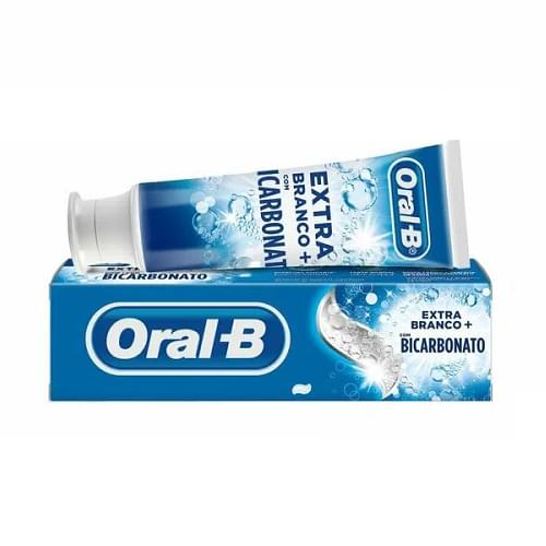 Imagem de Creme dental tradicional oral-b 70g extra branco