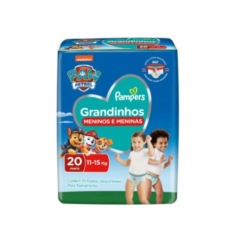 Imagem de Fralda infantil pampers pants c/20 grandinhos