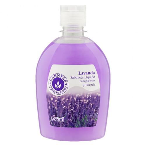Imagem de Sabonete líquido uso diário farnese 365 ml lavanda