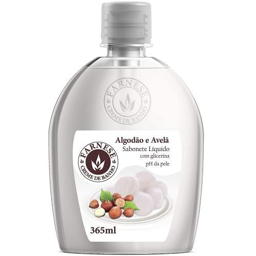 Imagem de Sabonete líquido uso diário farnese 365 ml algodão e avelã