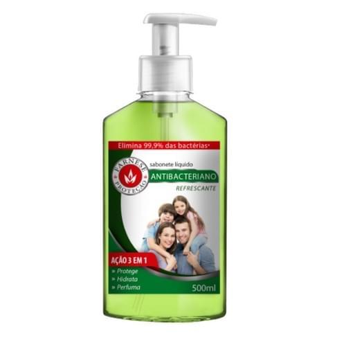 Imagem de Sabonete líquido uso diário farnese 500ml antibacteriano refrescante