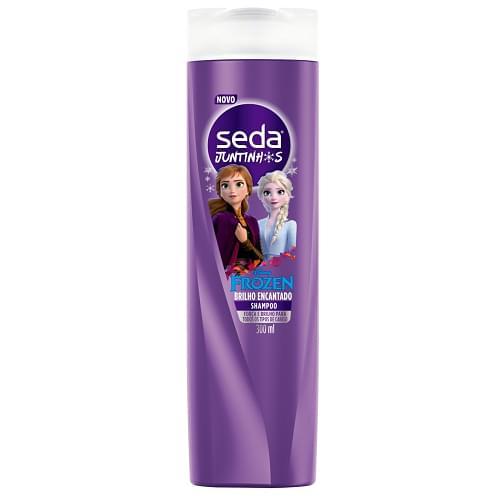 Imagem de Shampoo infantil seda 300ml juntinhos td tipo de cabelo frozen