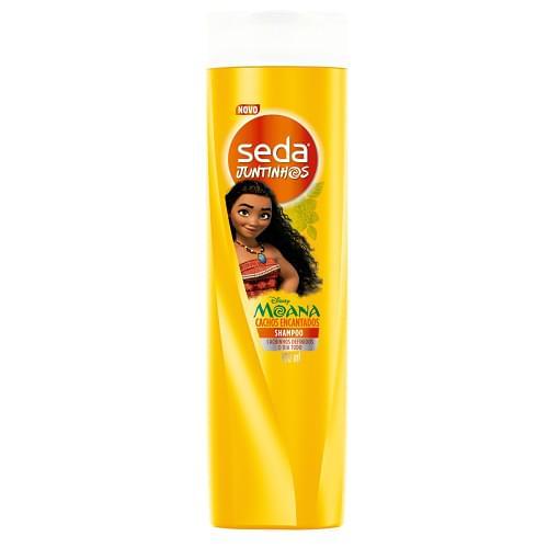 Imagem de Shampoo infantil seda 300ml juntinhos cachos moana