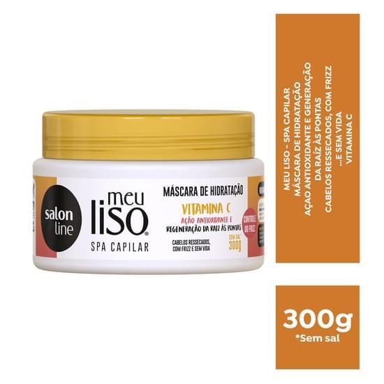 Imagem de Creme tratamento salon line 300g meu liso vitamina c