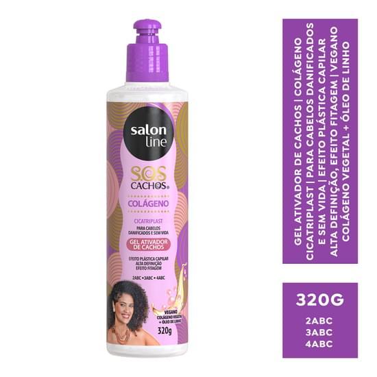 Imagem de Gel uso diário salon line 320g sos colágeno