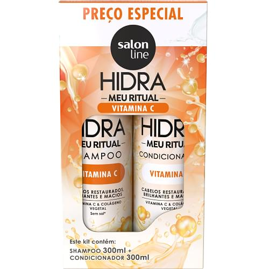 Imagem de Kit sh + co salon line 300ml hidra vitamina c