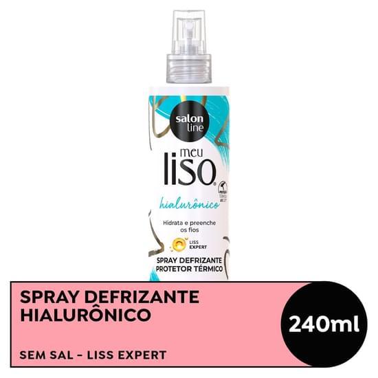 Imagem de Defrizante spray salon line 240ml meu liso hialuronico