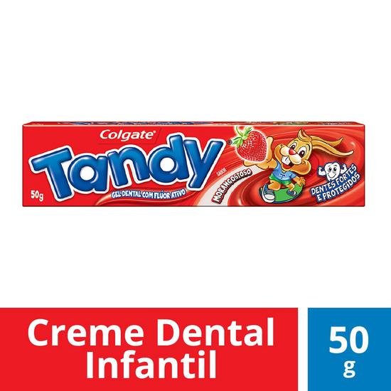 Imagem de Creme dental gel tandy 50g morango