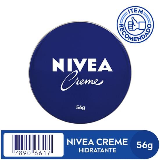 Imagem de Creme hidratante nivea 56g lata