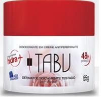 Imagem de Desodorante em creme tabu 55g tradicional