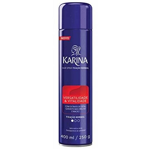Imagem de Hair spray fixador karina 400ml tradicional
