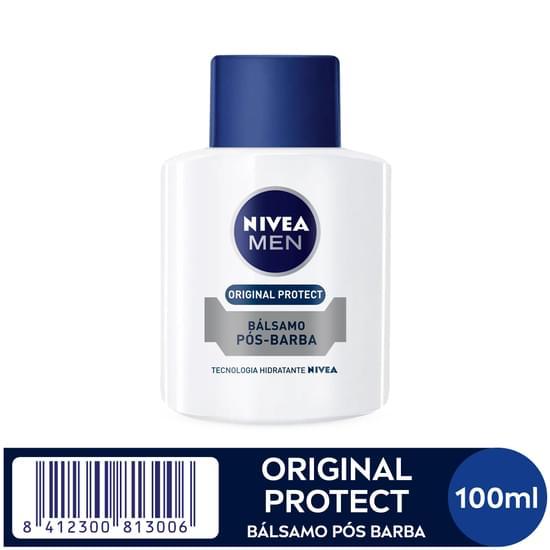 Imagem de Loção facial pós barba nivea 100ml balsamo hidratante