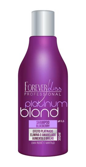 Imagem de Shampoo matizador platinum blond forever liss 300ml