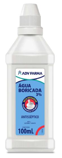 Imagem de Água boricada 100ml adv farma
