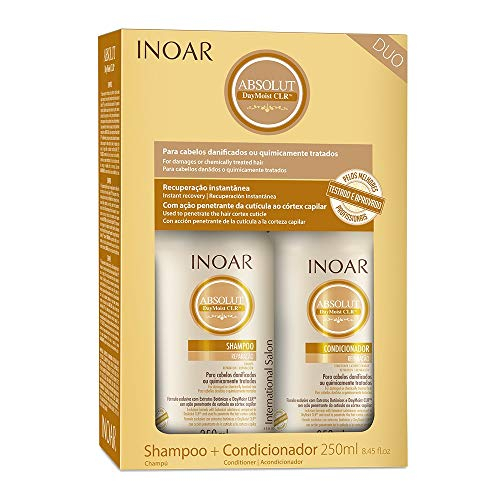 Imagem de Kit shampoo+condicionador absolut daymoist 250 ml inoar