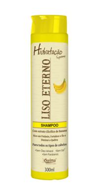 Imagem de Shampoo eficaz capilar liso eterno banana 300ml kelma