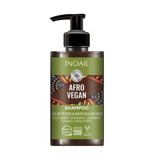 Imagem de Afro vegan shampoo inoar 300 ml