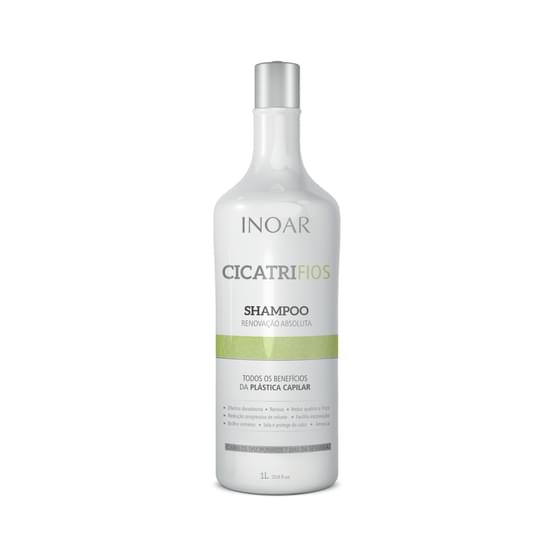 Imagem de Cicatrifios shampoo plástica capilar 1 litro inoar