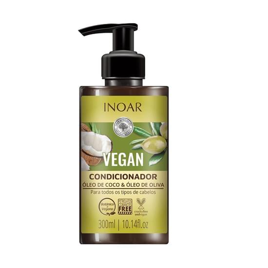Imagem de Condicionador óleo de coco/ oliva vegan 300ml- inoar