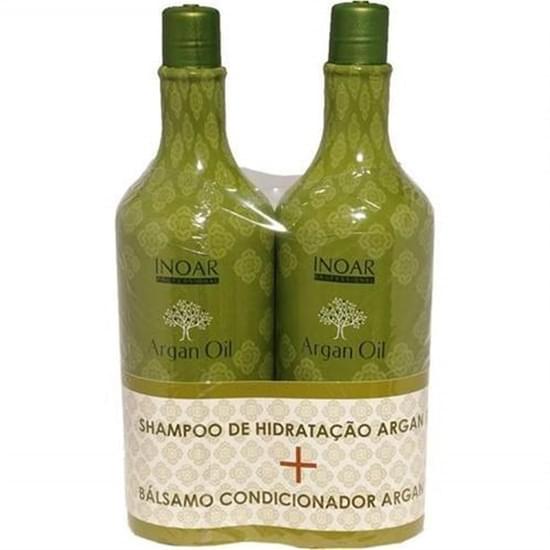 Imagem de Kit argan oil shampoo + condicionador 1 litro inoar