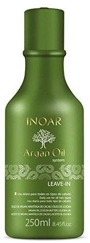 Imagem de Leave-in óleo de argan e jatoba com manteiga de cacau inoar 250ml