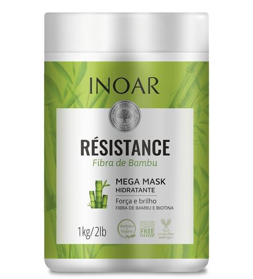 Imagem de Mascara resistance fibra de bambu 1 kg inoar