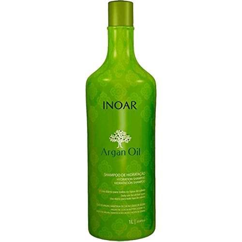 Imagem de Shampoo argan oil hidratante 1 litro inoar
