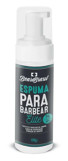 Imagem de Espuma de barbear 150ml beard brasil